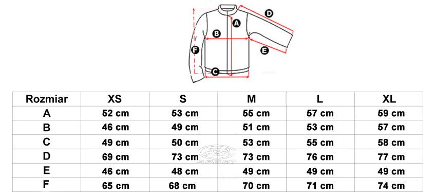 82ef141653708 Kurtka posiada regulowany obwód dolny oraz mankiety - dzięki czemu  odpowiednie dopasowanie kurki jest niezwykle proste.