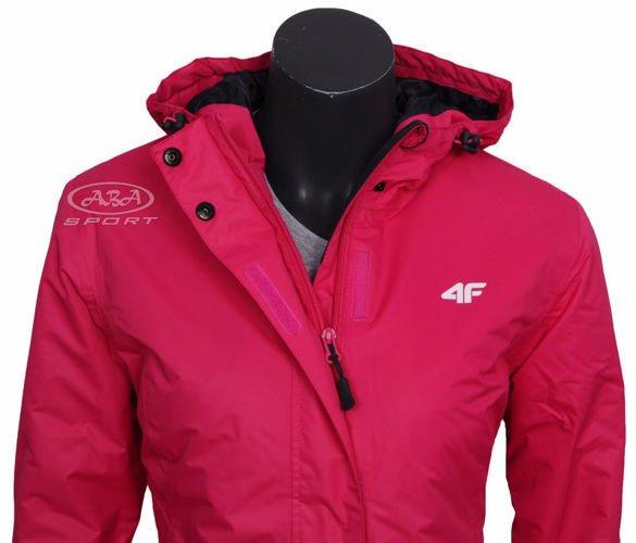 0b60ff984 Damska kurtka narciarska KUDN009 4F różowa - ABA Sport