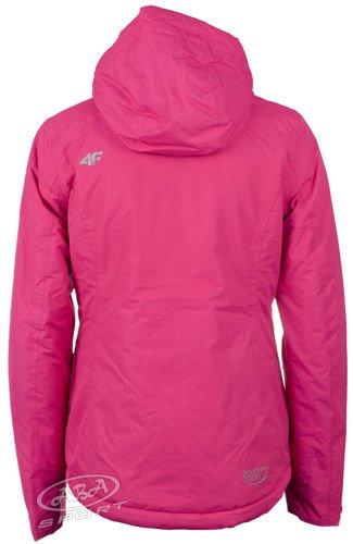 ddf04e1f301ae Damska kurtka narciarska KUDN011 4F różowy - ABA Sport