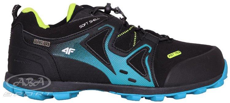 2a6fd782 Damskie buty trekkingowe OBDT003 4F niebieski - ABA Sport