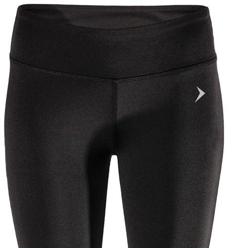 152394e0a0ec07 Damskie spodnie fitness getry SPDF600 Outhorn czarny- ABA Sport