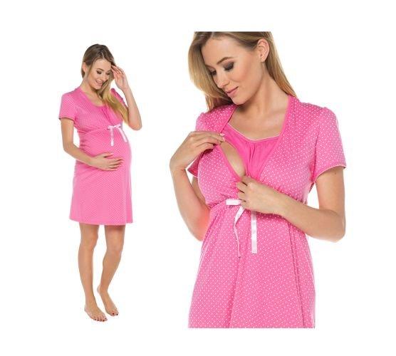 9c645195d510ee Koszula ciążowa Radość Italian Fashion różowy - ABA Sport