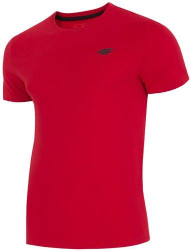 619eada464d60e Koszulka męska TSM002 4F Czerwony - ABA Sport