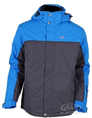 kurtka 4 f zimowa niebieska