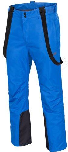 5dbe052e0 Męskie spodnie narciarskie SPMN0001 4F Szary - ABA Sport
