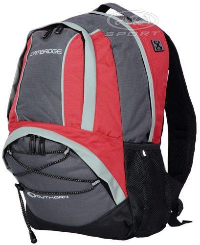 2e893593a4cac Plecak szkolny 18l PCU447 CAMBRIDGE Outhorn czerwono-szary - ABA Sport